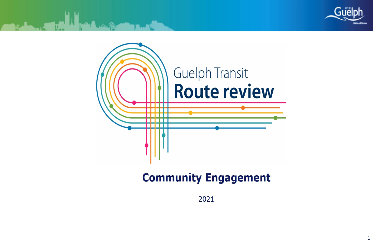 Guelph Transit Route Review  - What it is and what you need to know