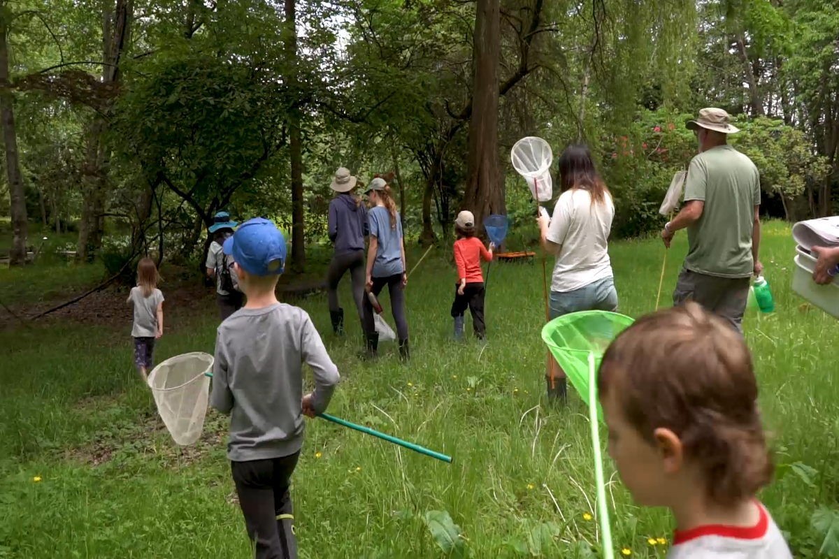 Nicomekl Nature Kids explore the future Nicomekl Riverfront Park