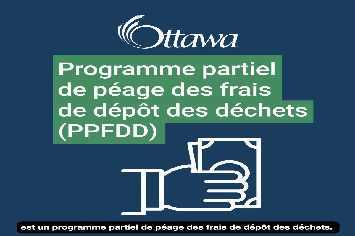 Le péage partiel des frais de dépôt des déchets (PPFDD)