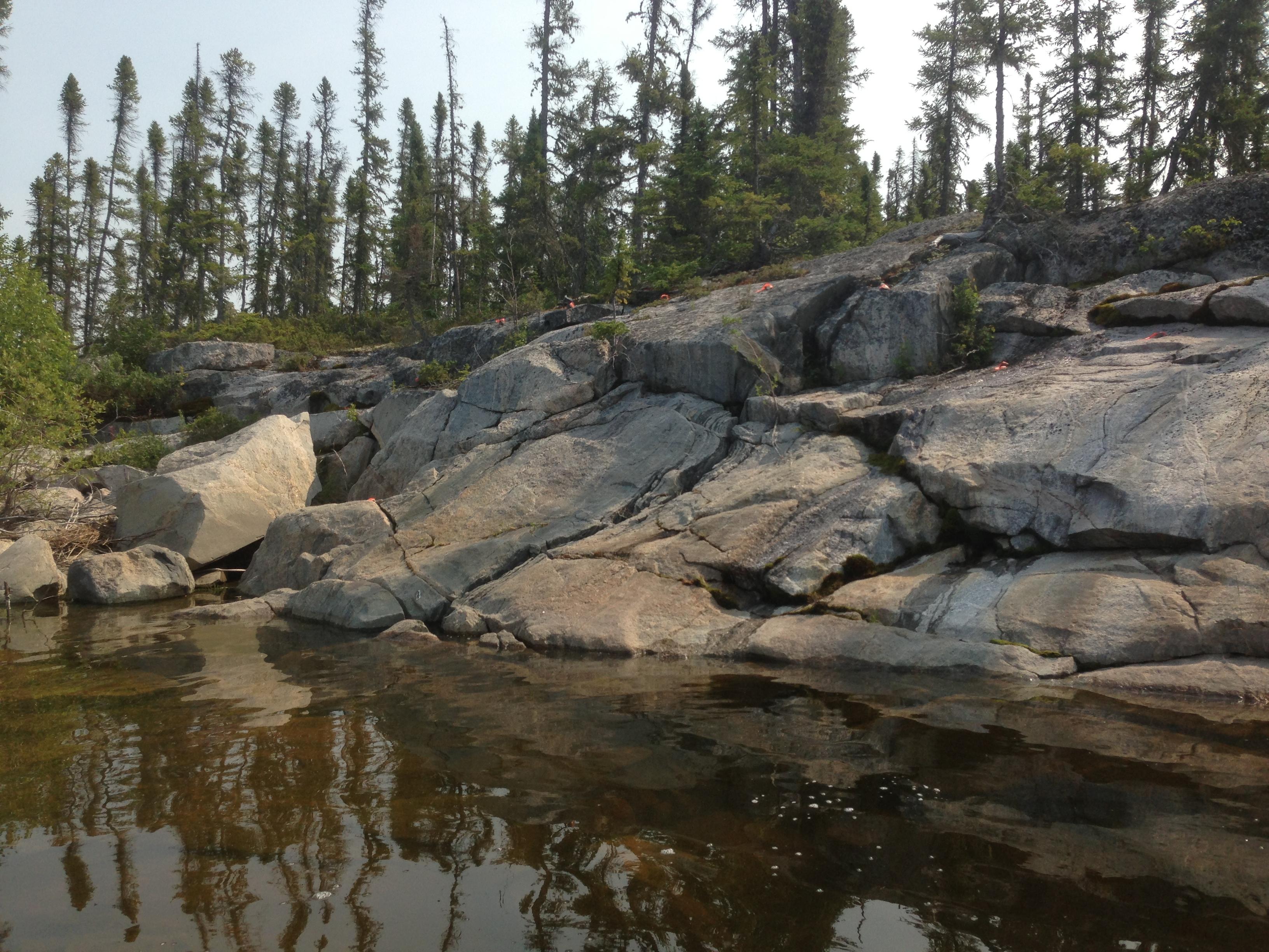Photo of Granite taken at Northern Indian Lake.