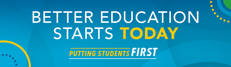 Better Education Starts Today