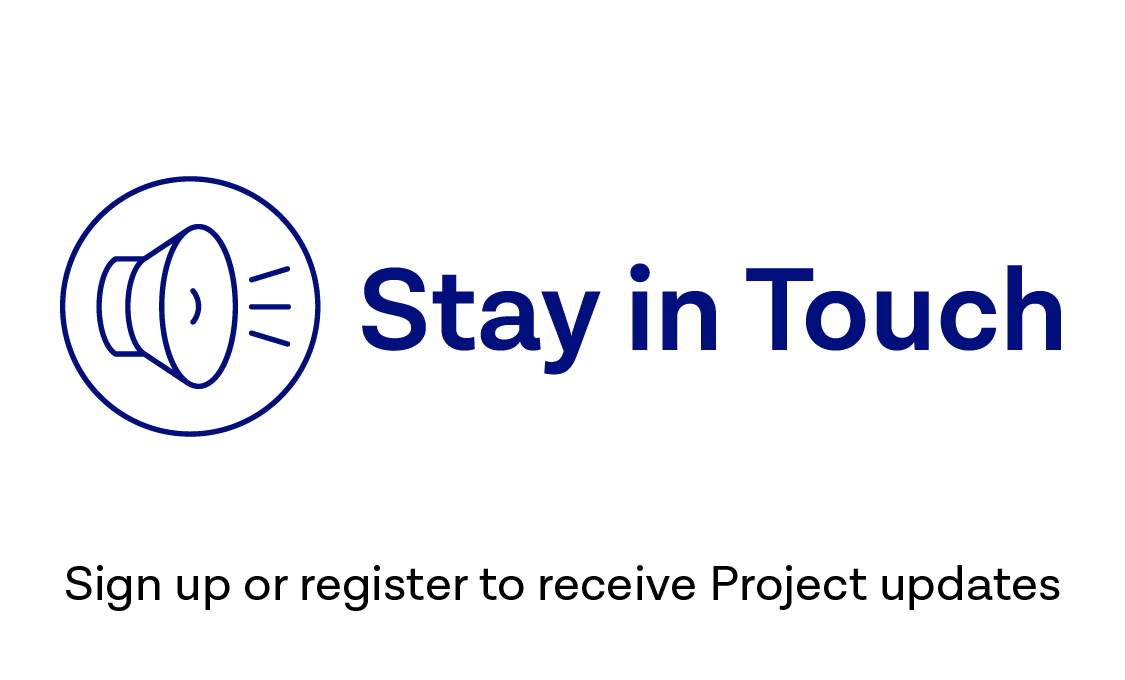 Sign up or register to receive Project updates