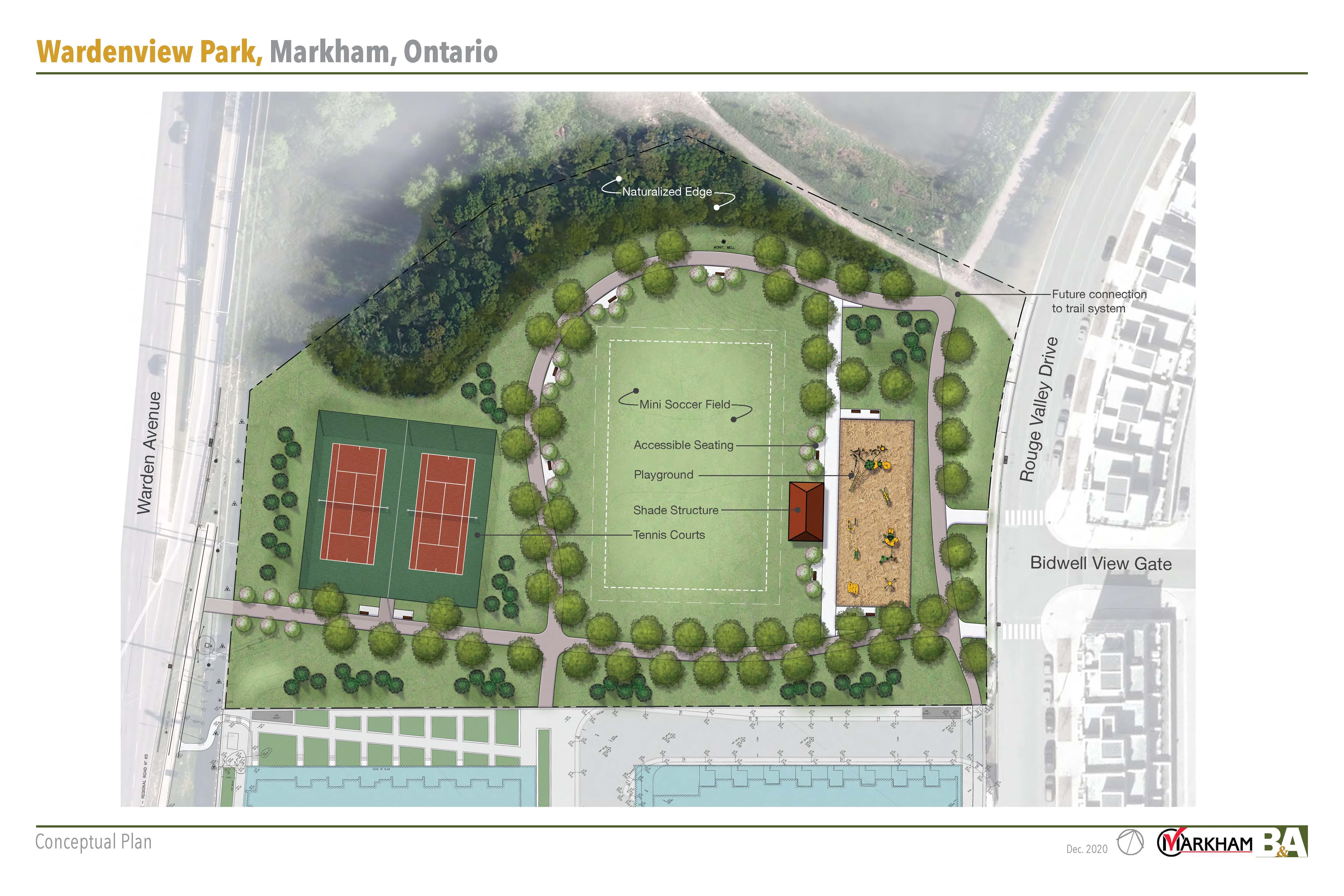Wardenview Park Conceptual Plan