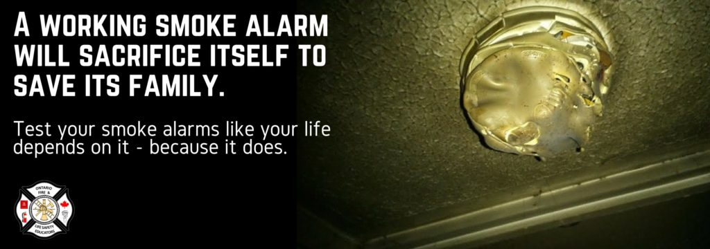 Test your smoke alarms like your life depends on it - because it does.
