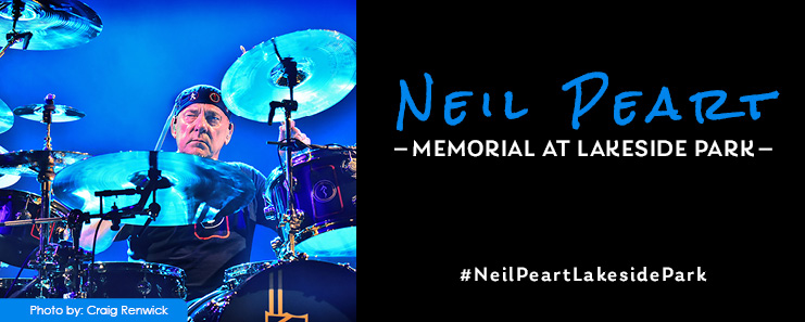 Donate to the Neil Peart Memorial at Lakeside Park