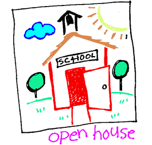 Colored open house