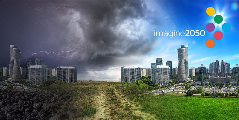 Imagine 2050 4ftx2ft