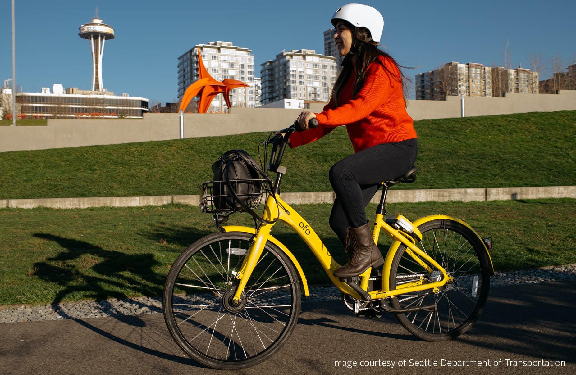 Yellow bike pic syc