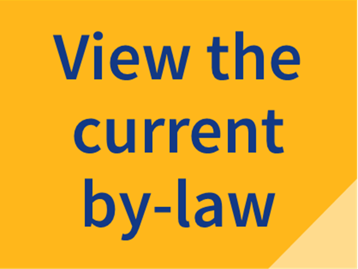 View the current by-law