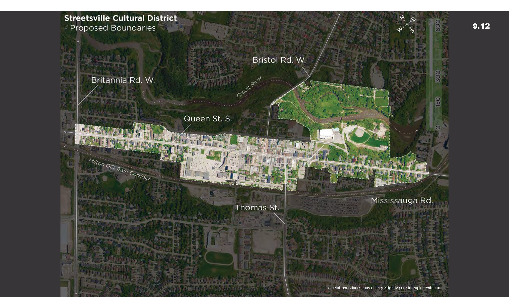 Proposed Streetsville District Boundaries