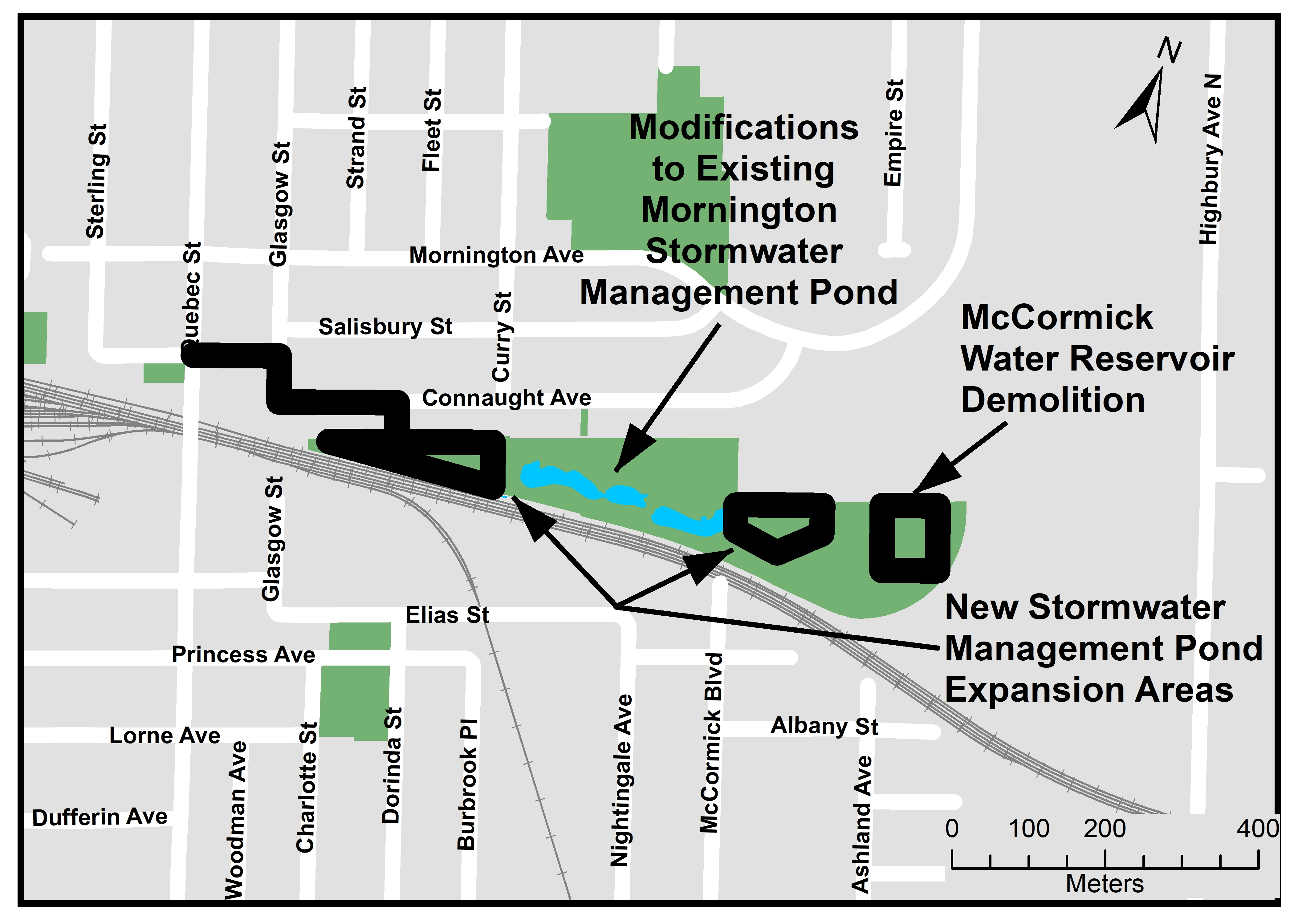 The City of London will reconstruct Salisbury Street from Quebec Street to Glasgow Street, Glasgow Street from Salisbury Street to Connaught Avenue, and Connaught Avenue from Glasgow Street to the west entrance of Mornington Park. For more information, please contact Paul Titus at ptitus@london.ca or by calling 519-661-2489 x 4948.