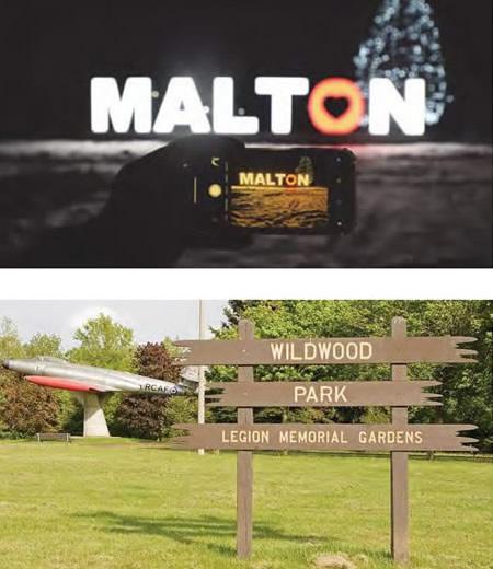 Various Malton places