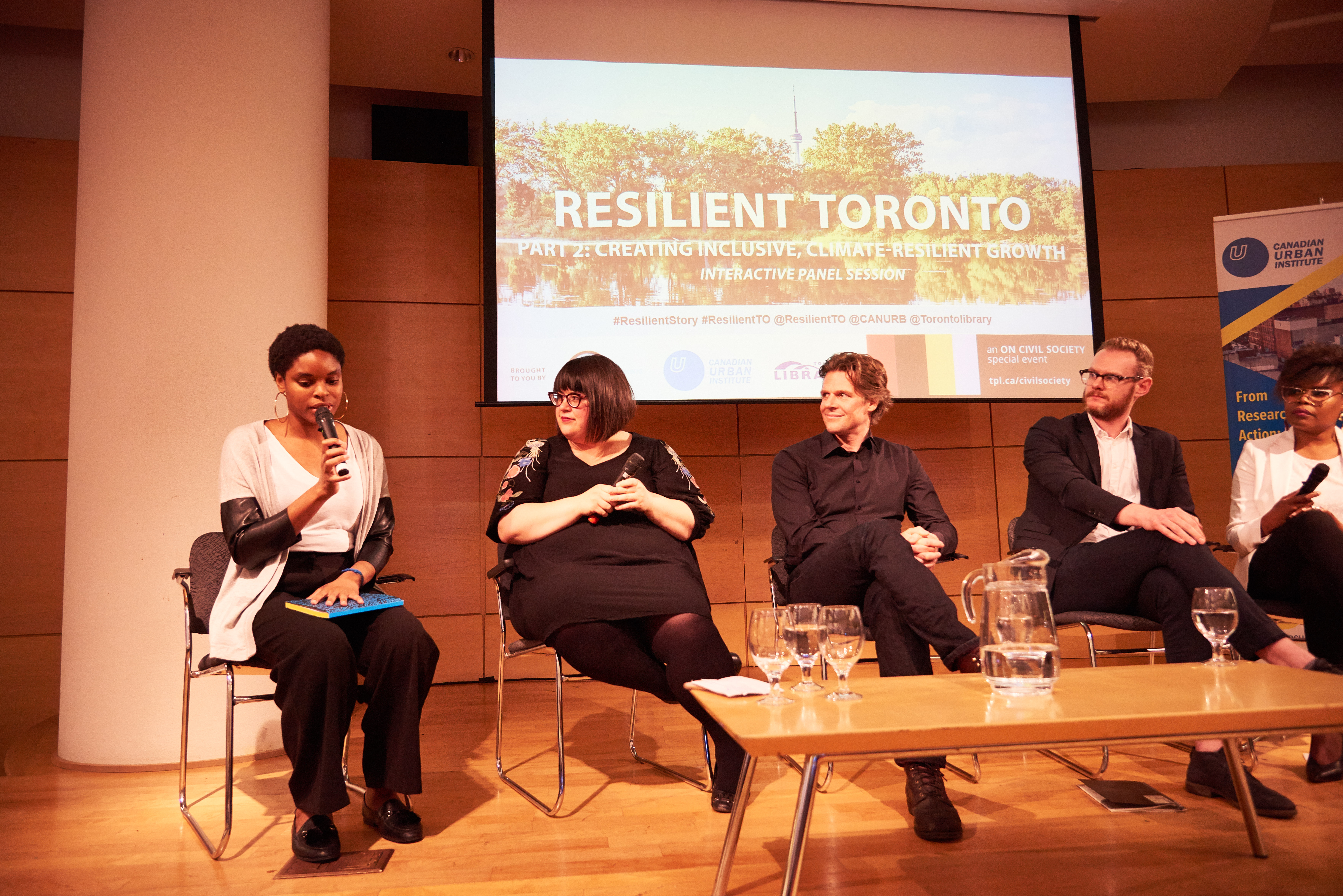 A different community member speaks at our May 16 panel discussion