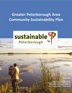 Cover of Greater Peterborough Area Sustainability Plan