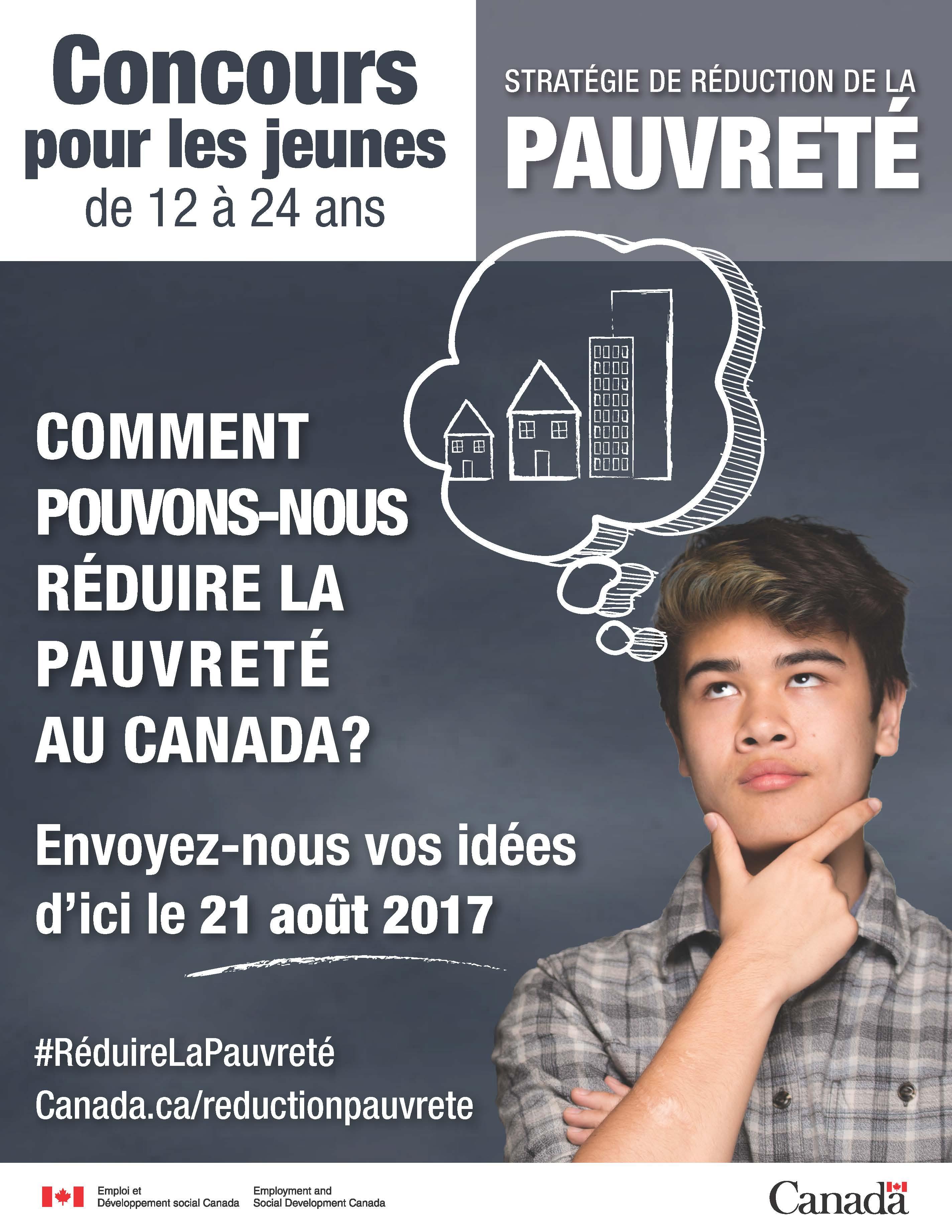 Affiche : concours pour les jeunes