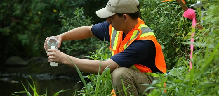 Water quality sampling resize