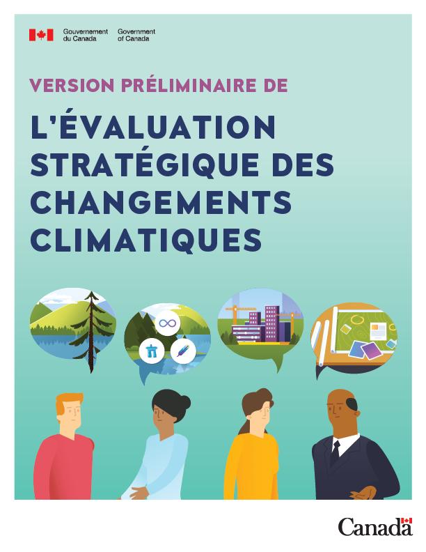 Version préliminare de l'évaluation stratégique des changements climatiques