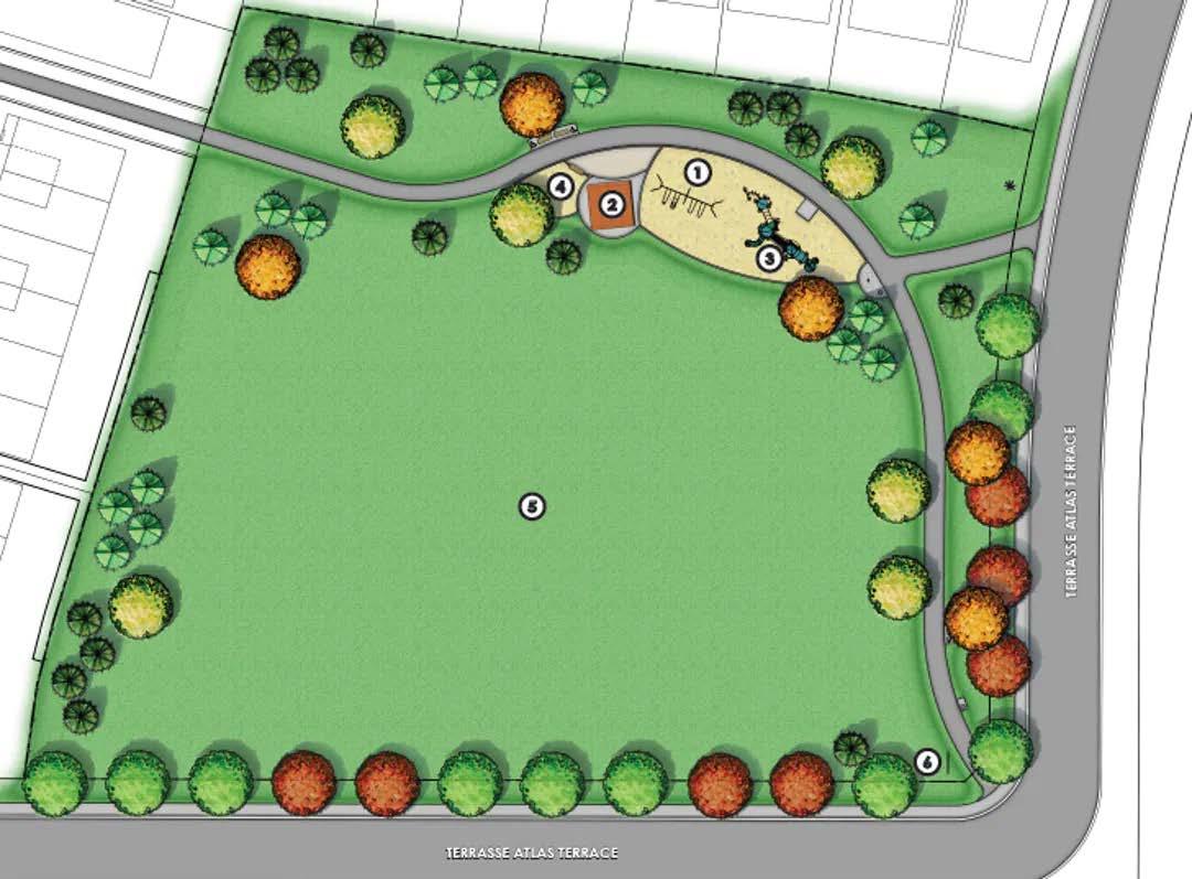 Atlas Park Layout