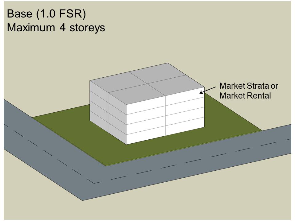 Density bonus example   base