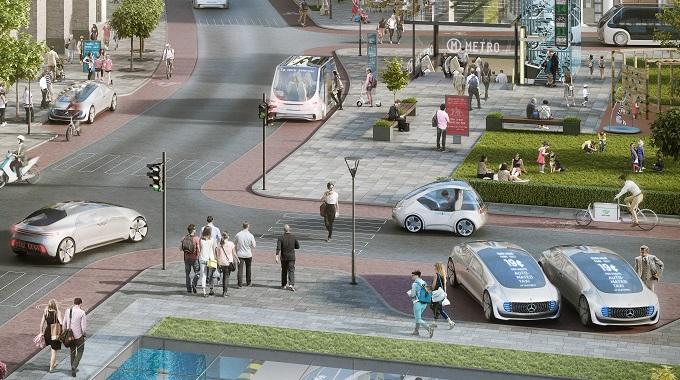 Future city concept image