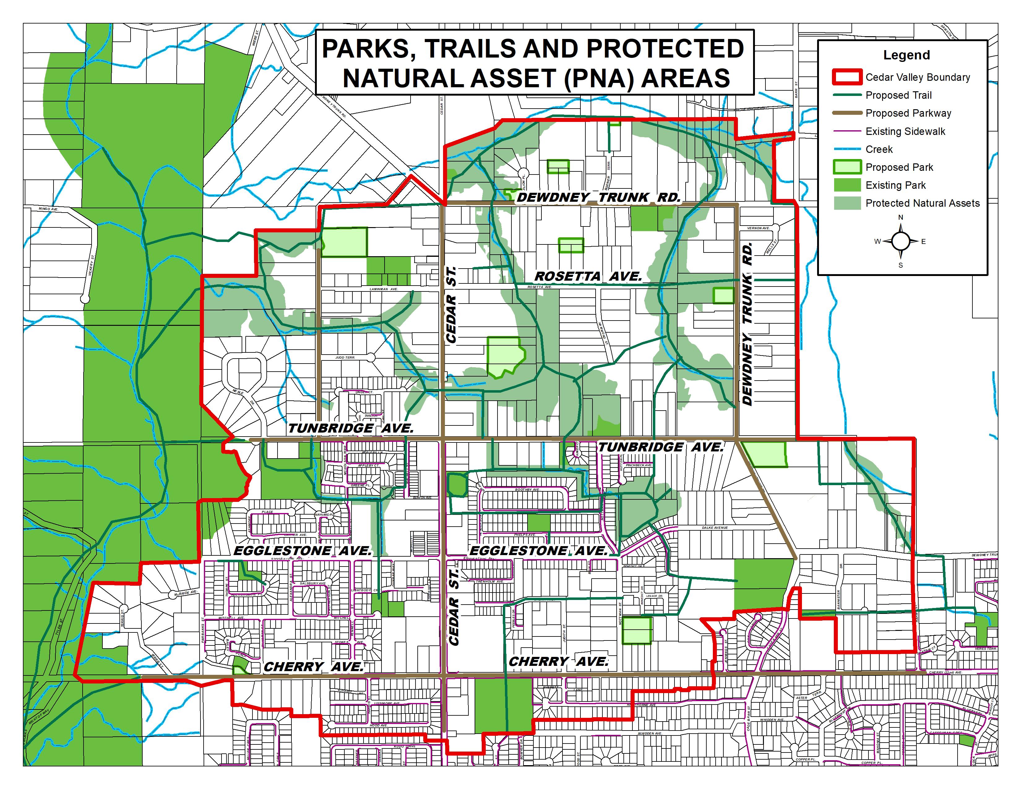 Parks trails pnas