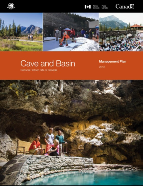 Cave and basin cover page