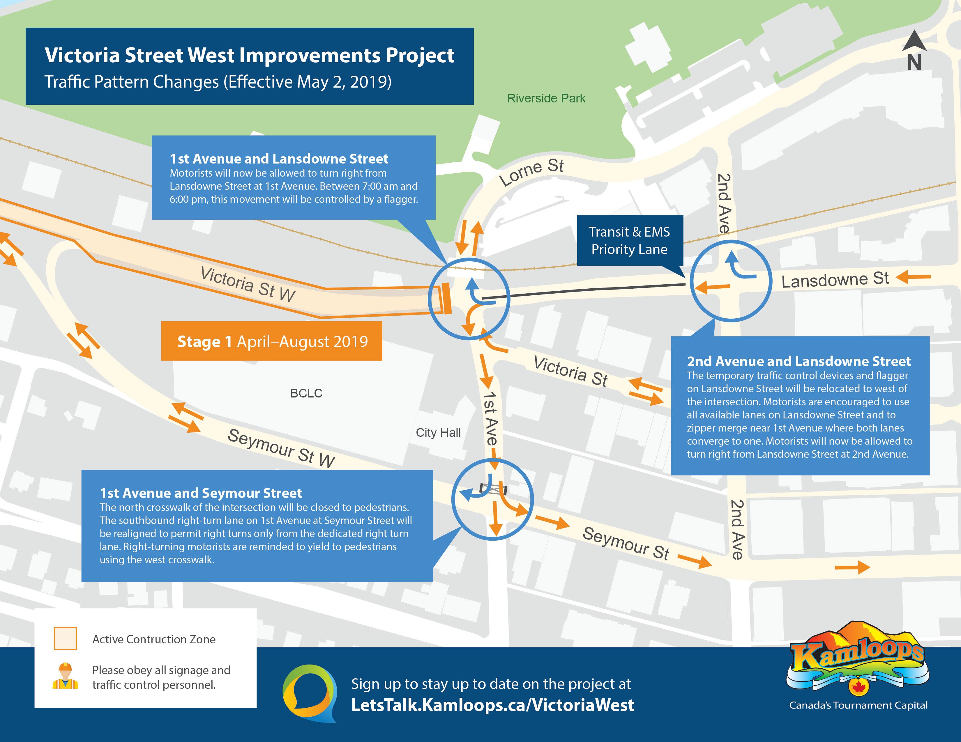 Victoria Street West Improvements Project | Let's Talk Kamloops