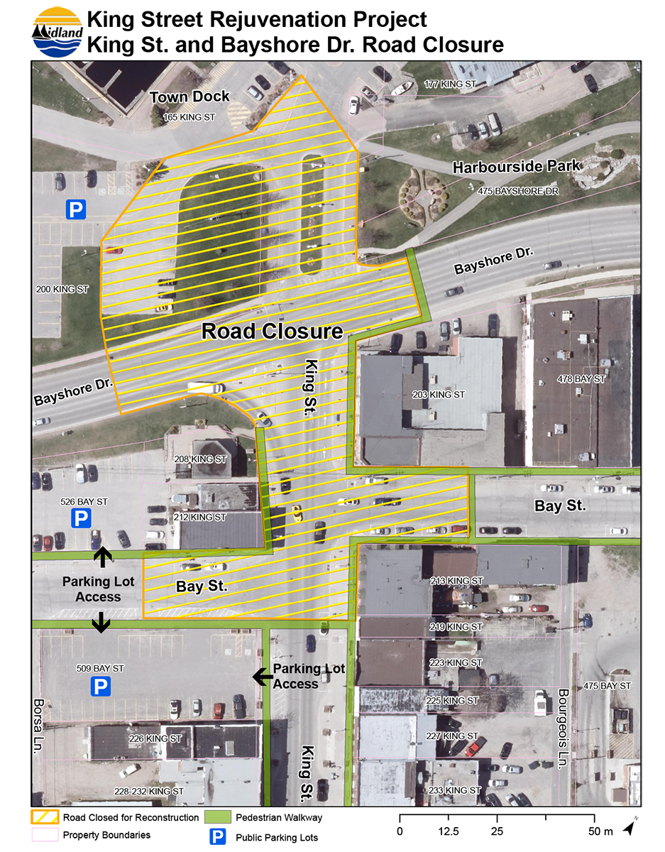 King st and bayshore drive road closure sept 2019 v2