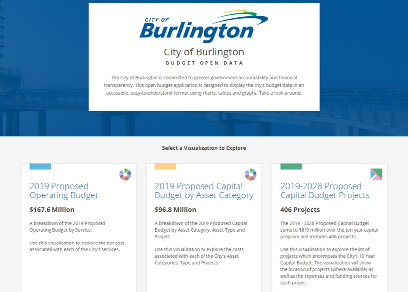 7018816a79077d The City of Burlington is committed to greater government accountability  and financial transparency. This open budget application is designed to  display the ...