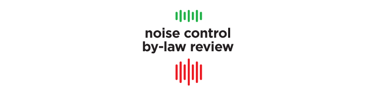 Noise Control By-law
