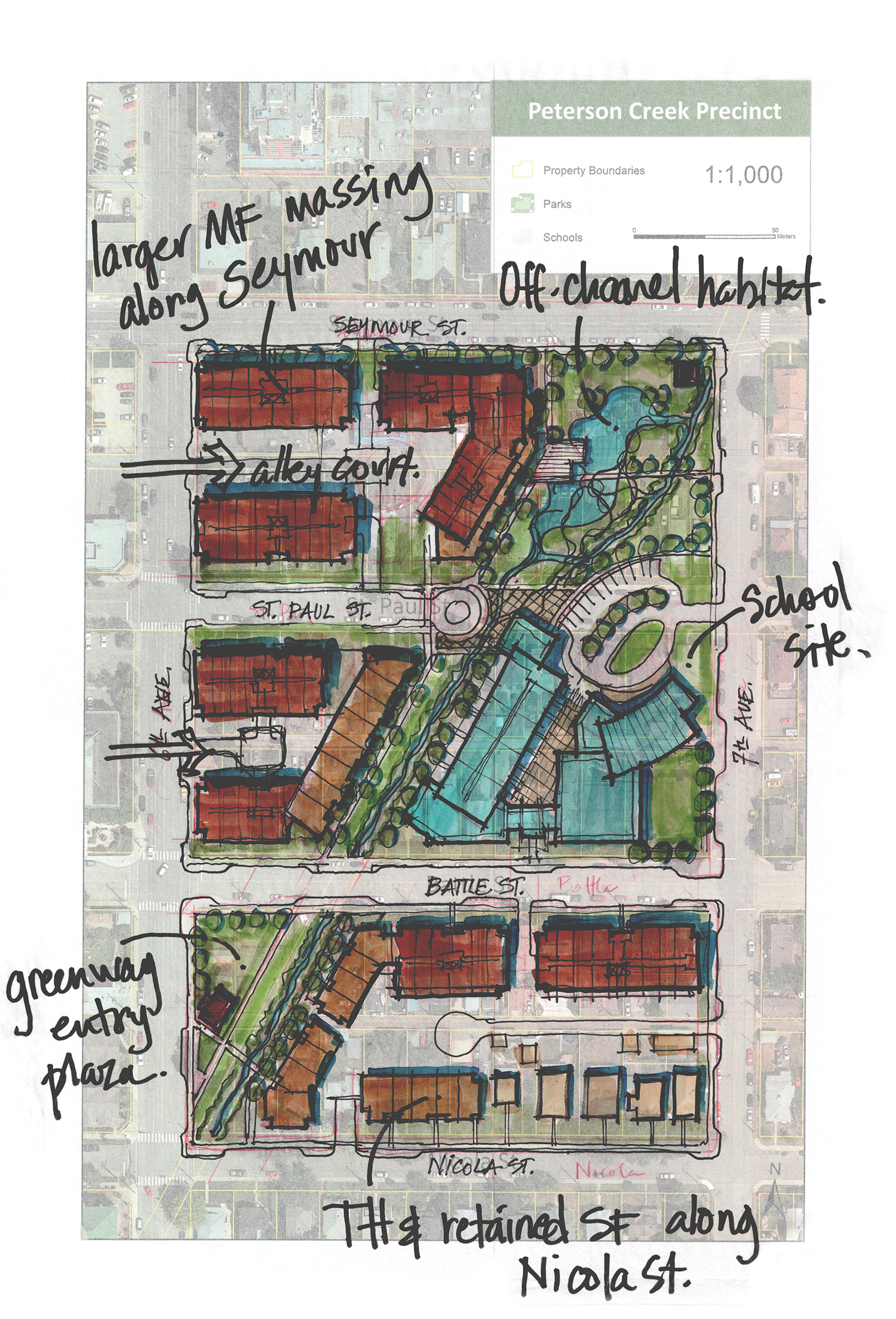 Peterson creek precinct %28site plan%29