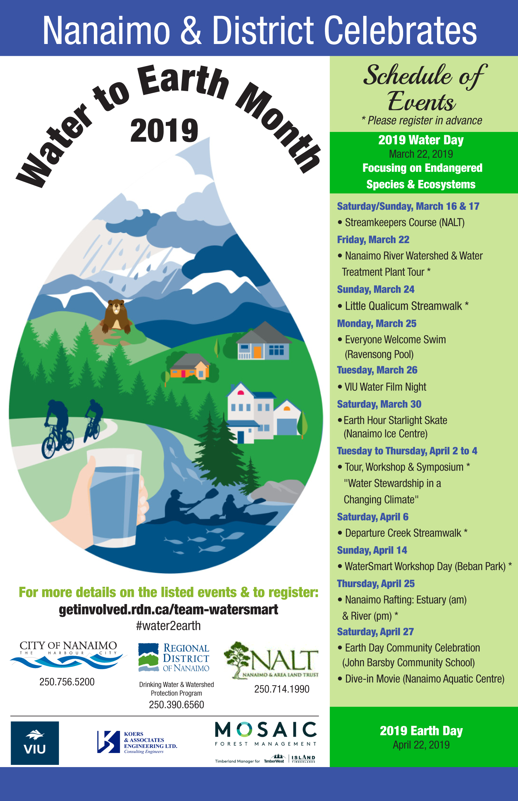 Earthwatermonth poster