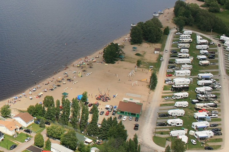 Camping plage Blanchet