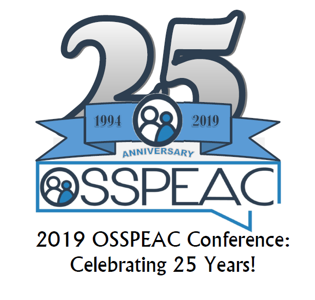 2019 OSSPEAC Fall Conference: Celebrating 25 Years - Registration