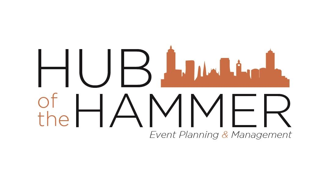 Hub of the hammer - event planning logo