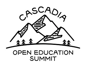 Cascadia Open Education Summit logo