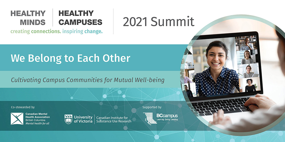 Healthy Minds | Healthy Campuses: 2021 Summit Banner