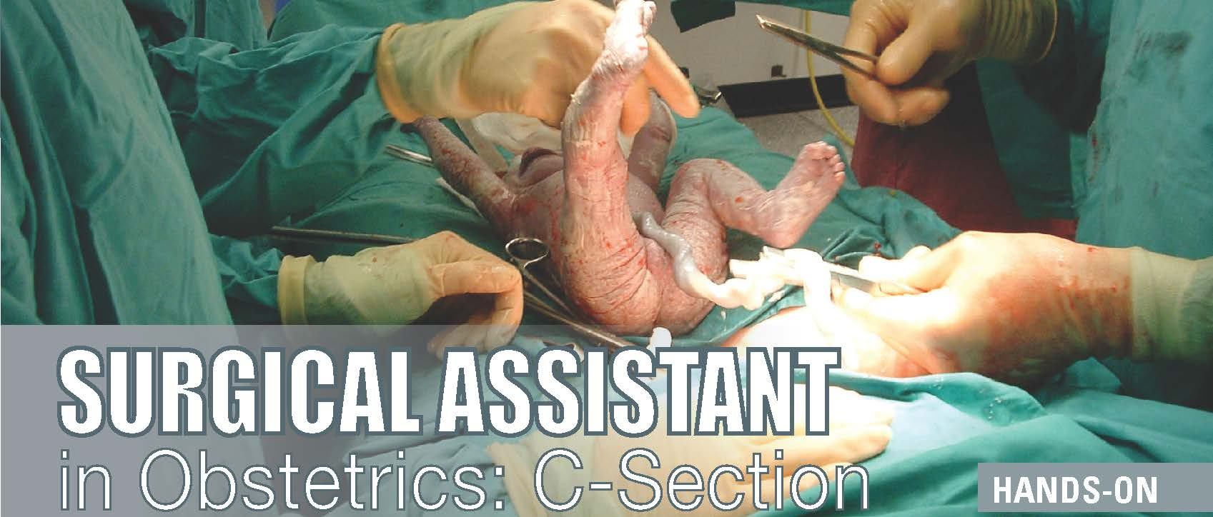 Surgical Assistant in Obstetrics: C-Section (ME9212
