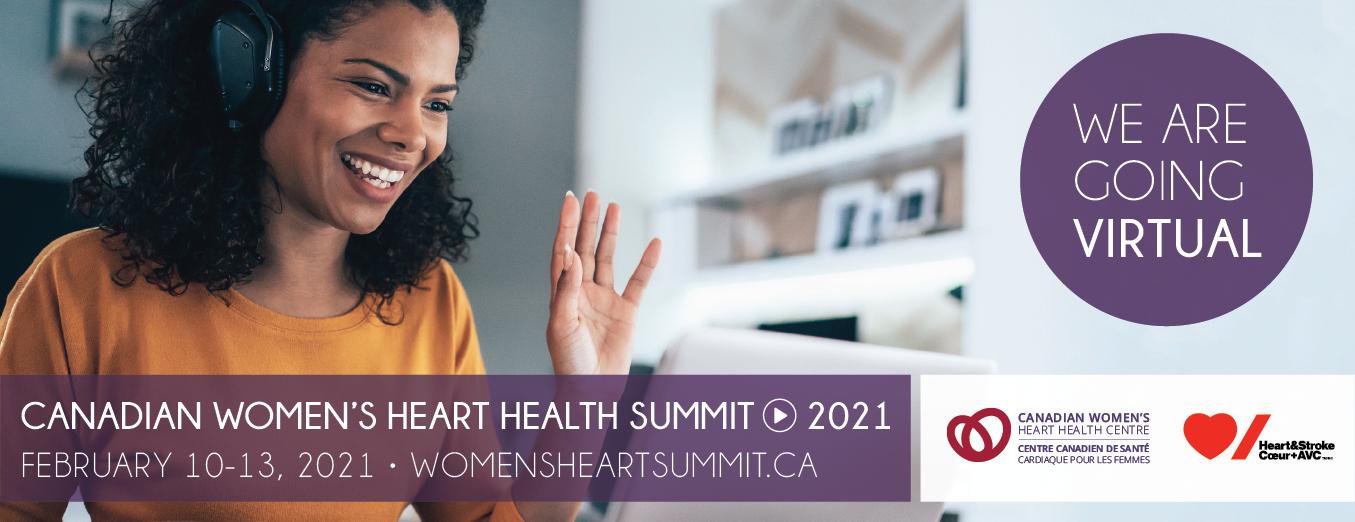 2021 Canadian Women's Heart Health Summit - Registration