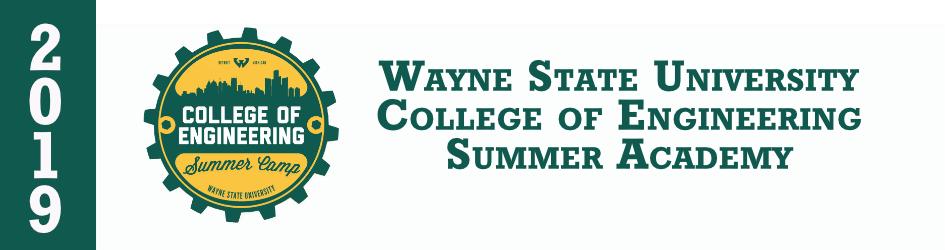 2019 College of Engineering Summer Academy - Registration
