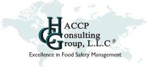 HACCP Consulting Group, L.L.C. Excellence in Food Safety Management Logo