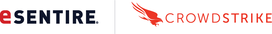 CrowdStrike and eSentire Logos