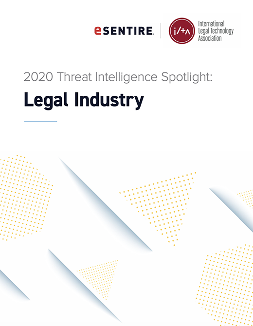 2020 Threat Intelligence Spotlight Legal Industry Thumbnail 520x670