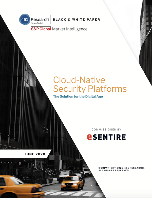 451 Research Report Cloud Native Security Platforms thumbnail 600x780