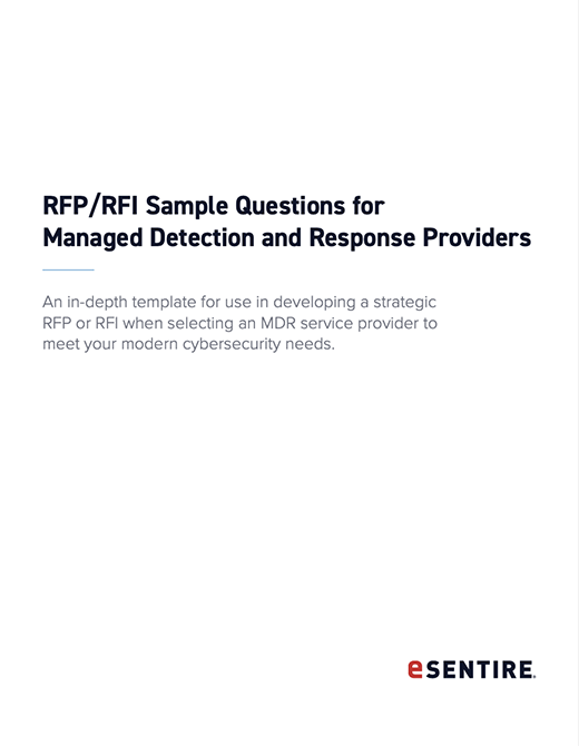 RFP RFI Sample Questions for Managed Detection and Response Providers thumbnail 520x670