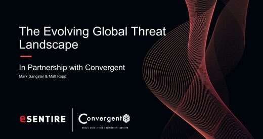The evolving global threat landscape