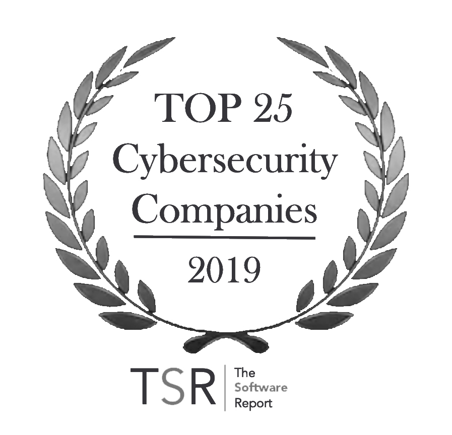 TSR Cyber Badge black text