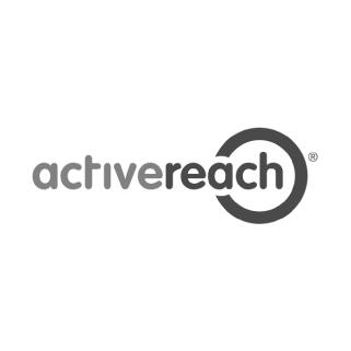 Activereach greyscale logo