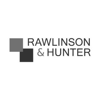 Rawlinson greyscale logo