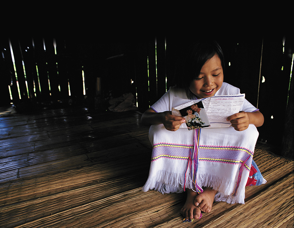 Letters are a wonderful source of encouragement for your sponsored child